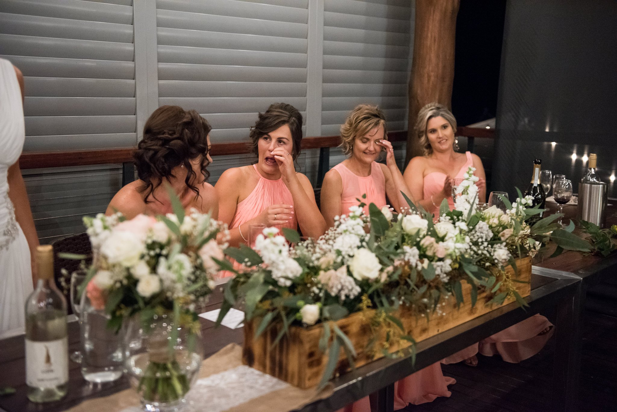 emotional bridesmaids