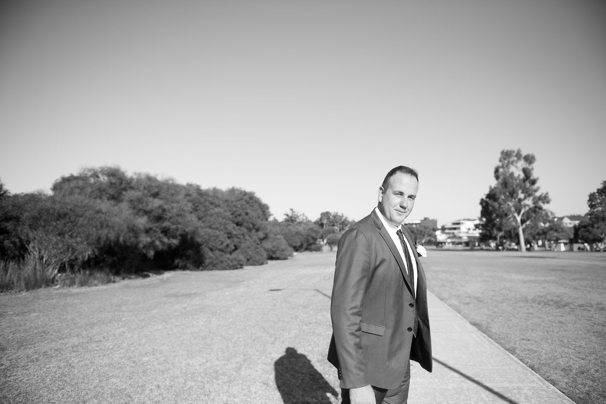 groom at parklands by the swan river