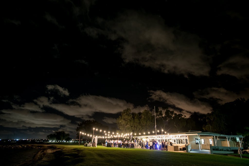 newdlands yacht club after dark