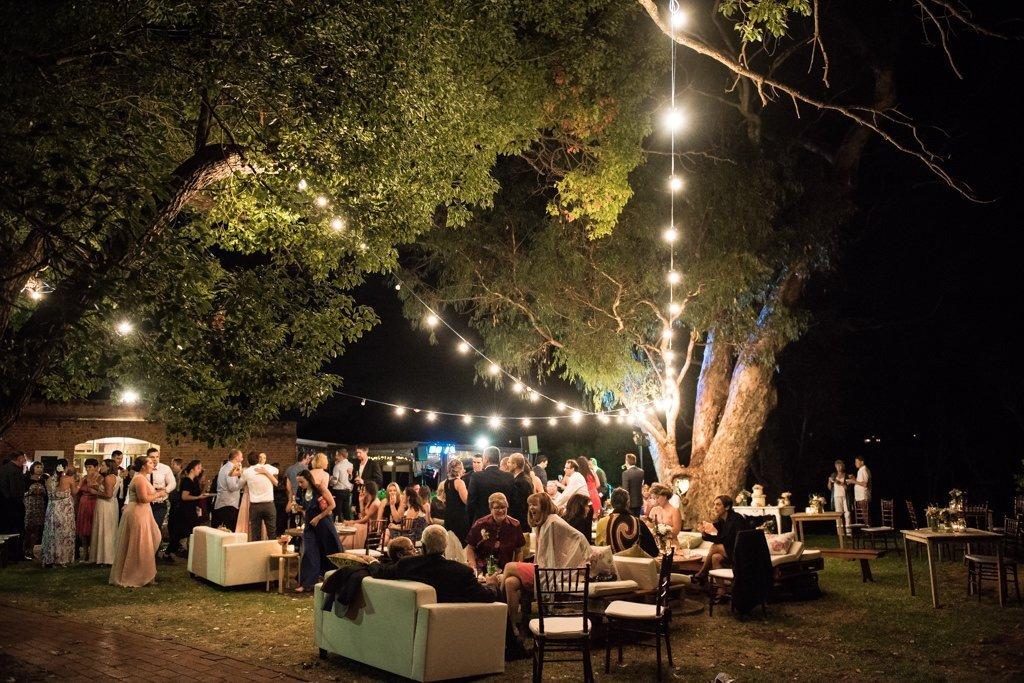 Riverside on swan wedding reception